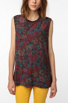 Truly Madly Deeply Cut-Off Muscle Tank