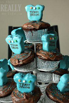 onesie cake pop cupcakes ...too cute!