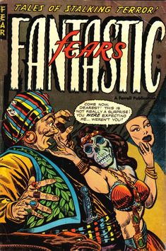 Cover for Fantastic Fears (Farrell, 1953 series) #8 [2]
