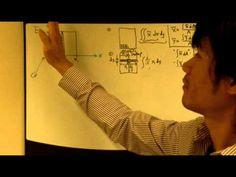 video que muestra. El cálculo analítico del centro de gravedad de áreas conocidas como de un rectángulo. #centrodegravedad #areas