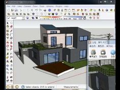 47 - 1. SketchUp - 스케치업 내보내기 ① (2D Graphic Export) - 1 유튜브채널-부지런한소  http://www.youtube.com/user/RenderCOW