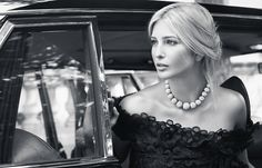 I have a huge girl crush on this class act. Sharp business woman, wife, mother, mogul. Ivanka Trump