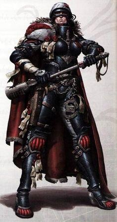 Warhammer 40k - Adeptus Arbites Female Arbitrator