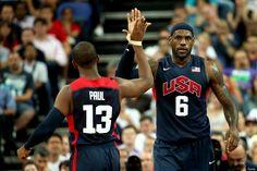 LeBron James, Chris Paul