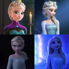 The evolution of Elsa - from contained to free Disney Kunst, Arte Disney, Disney Art, Disney Stuff, Frozen Disney, Elsa Frozen, Frozen Wallpaper, Cute Disney Wallpaper, Pixar