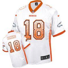 f7f2fb7f3cf Nike Broncos Peyton Manning White Men's Stitched NFL Elite Drift Fashion  Jersey And Cowboys Sean Lee 50 jersey