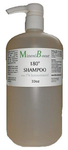 Hair Loss Shampoo for Men and Women ~ MinoxiBoost Thinning Hair Loss Shampoo 180° 34oz * Click on the image for additional details.