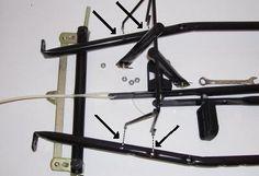 Pedal Hanger to Frame Assembly