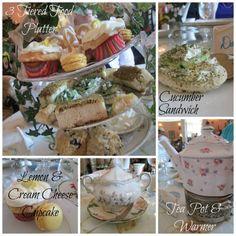 tea party food ideas!