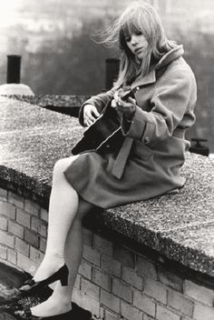 Marianne Faithfull: I love this picture