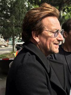 U2 -Autographes de Bono à Vancouver, Canada 10-05-2017