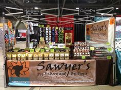 Side view of our corner booth at SoCal Pet Expo 2014