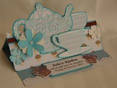 Skippy's Place: Kitchen Tea Easel Card