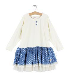Off White Linnea Dress by My Cinnamon Girl Girl Falling, Off White, Cinnamon, Little Girls, Bell Sleeve Top, Fall Winter, Blouse, Tops, Dresses