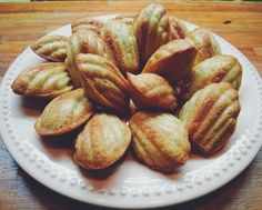Madeleine   #afternoon #sweet #love #enjoy #homemade #cooking