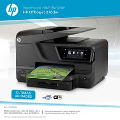Impresora HP Multifuncion OfficeJet 276dw en Infowork