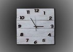 Orologio da parete Pallet vintage Art industrial design Shabby Chic Wall Clock