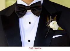 Tuxedo: Lanvin, Bowtie: Dolce & Gabbana, Shirt: Bergdorf Goodman, Studs: Dunhill