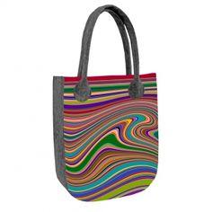 Filcová kabelka City Vlna Reusable Tote Bags, City, Fashion, Moda, La Mode, Fasion, Fashion Models, Trendy Fashion