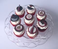 Texas A&M Graduation cupcakes