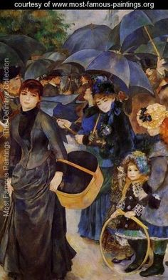 Umbrellas - Pierre Auguste Renoir - www.most-famous-paintings.org