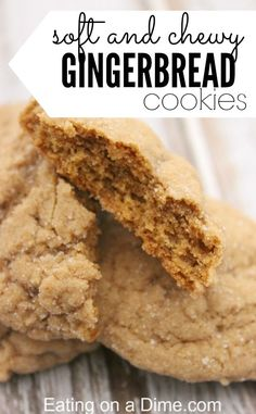 Gingerbread Cookies - Soft and Chewy Old Fashion Gingerbread - - Skip the old fashion Gingerbread cookies. Try this delicious soft and chewy gingerbread cookies recipe today. It wont disappoint! Ginger Bread Cookies Recipe, Ginger Cookies, Cookie Recipes, Dessert Recipes, Caramel Cookies, Bar Recipes, Family Recipes, Family Meals, Recipies
