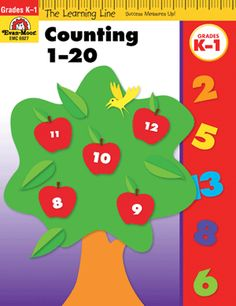 Learning Line: Counting 1-20, Grades K-1 - Activity Book: Evan-Moor.com