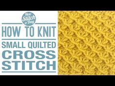 How to Knit the Fancy Slip Stitch Rib Pattern (English Style) - YouTube