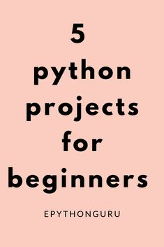 5 Python projects for beginners - learn 5 important project which are very important for beginners Learn Computer Coding, Computer Programming Languages, Computer Basics, Coding Languages, Learn Programming, Python Programming Books, Computer Build, Computer Science Projects, Learn Computer Science