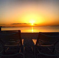 Sunset in Nassau Paradise Island, The Bahamas.