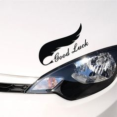 Special Designed Good Luck Words Car Stickers
