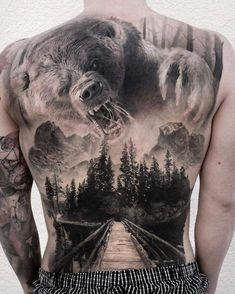 101 Badass Tattoos For Men: Cool Designs + Ideas Guide.- 101 Badass Tattoos For Men: Cool Designs + Ideas Guide) Awesome Hunting Tattoo Ideas For Men – Best Tattoo Ideas For Men: Cool Badass Tattoos For Guys – Awesome Designs - 3d Tattoos, Large Tattoos, Trendy Tattoos, Animal Tattoos, Body Art Tattoos, Geisha Tattoos, Mens Tattoos, Wicked Tattoos, Chicano Tattoos