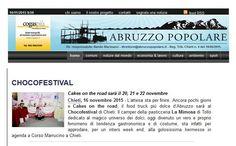 Su Abruzzo Popolare si parla di noi. Siamo in home page Tratto da http://www.abruzzopopolare.it