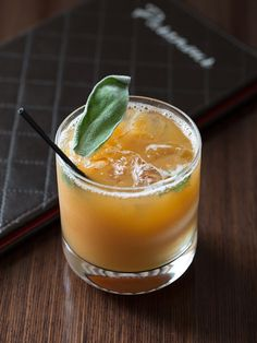 Meet the Caribbean Cider cocktail. This Paramour original has a delightfully rich bouquet of spices and strong notes of anise, birch, cloves & spearmint from Bacardi's Oakheart Rum blended with Art In The Age's ROOT. The rich and robust flavors of these spiced spirits are balanced by the sweetness of our house-made brown sugar syrup & apple cider while the sage enhances the warm winter flavors & herbaceous aroma.