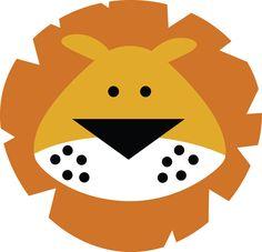 lion face (MISS KATE CUTTABLES)