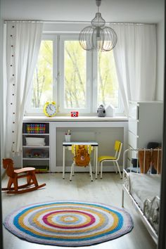 Montessori inspired toddler room