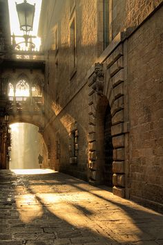Barcelona - the alleys you can walk again and again. Just to get yourself charmed