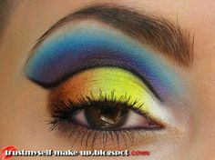 Beach, sea and sunset Makeup Tutorial - Makeup Geek Sexy Makeup, Crazy Makeup, Kiss Makeup, Makeup Geek, Makeup Art, Beauty Makeup, Makeup Ideas, Beauty Tips, Neutral Eye Makeup