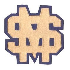 #sportpatch #patch #letterman #varsity #varsityletter #americana #champs #school #team #sports #vintage #antique #design #graphic #illustration #felt #chenille #singleneedle #chainstitch #champions #america #mascot #illustration #character #nostalgia #typography #lettermanpatch by sportpatch