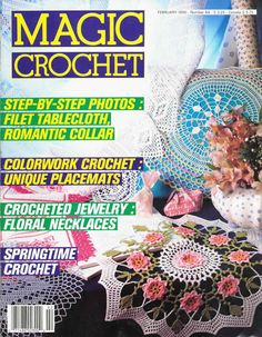 Magic Crochet No 64 February 1990