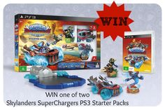 GIVEAWAY! WIN one of TWO Skylanders Superchargers PS3 Starter Packs! It's easy! Click to enter now!