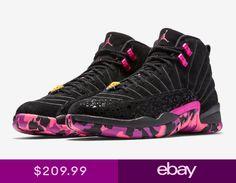 half off b89bb 3afa3 Nike Air Jordan 12 Retro DB Doernbecher Size 4-15 Carissa Black Pink  AH6987-023