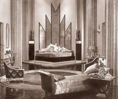 Art Deco Interior Design by no means go out of types. Art Deco Interior Design may be adorned in several ways each household Art Deco Decor, Casa Art Deco, Art Deco Room, Art Deco Stil, Art Deco Era, Art Deco Design, Decoration, Art Nouveau Bedroom, Design Design