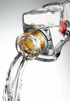 drink, liquid, splashes on Behance