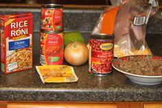 Mexican Casserole (Freezer to Crockpot) - Sidetracked Sarah website has a god list of freezer to crock pot meals Crock Pot Freezer, Freezer Cooking, Crock Pot Cooking, Freezer Meals, Freezer Recipes, Quick Recipes, Best Slow Cooker, Slow Cooker Recipes, Crockpot Recipes