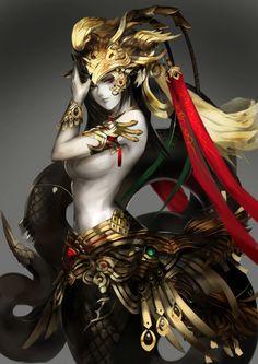 Naga(humano e serpente )
