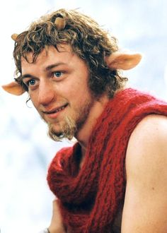 James McAvoy as Mr. Tumnus in Narnia: The Lion, The Witch and The Wadrobe