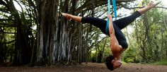 Aerial Yoga: Your Cirque Du Soleil Workout!