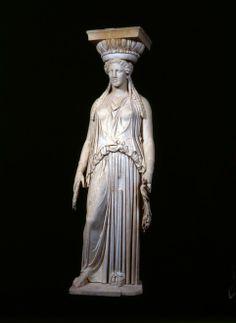 """Cariatide © Archivio fotografico SBAL. La Mostra su Adriano e la """"sua"""" Grecia"""