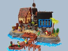 For PTV Contest on Eurobricks  The Golden Age of Piracy... Adventures and romance? No, piracy means blood, booze, violence, plunder, booze, murders, suffering, booze. You should keep your eyes open in the port's alleys. One yawn and you will find yourself with a knife in your ribs. Boatswain Bob was drinking away his loot. Together with one-eyed Tom from the Big Betty schooner they were finishing a case of rum. Tom found one case of rum to be not enough and decided to take the last bottle…